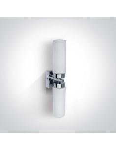 Kinkiet łazienkowy 2 punktowy Anavra chrom IP44 60106A/C - OneLight
