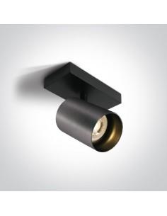 Spot oprawa regulowana Elatos 1 szara tuba 65105N/MG - OneLight