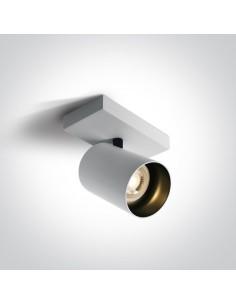 Oprawa sufitowa Elatos 1 spot regulowany biały tuba 65105N/W - OneLight