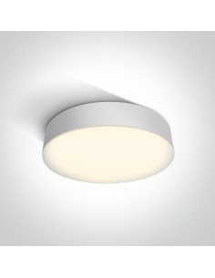 Plafon łazienkowy IP65 Velina Led 21W biały 32cm 3000k 67390/W/W - OneLight