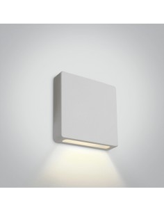 Oprawa schodowa elewacyjna LED 2W Stavri IP65 biała 68074A/W/W - OneLight