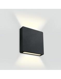 Oprawa elewacyjna schodowa LED Stavri 2 punktowa czarna 68074B/B/W - OneLight