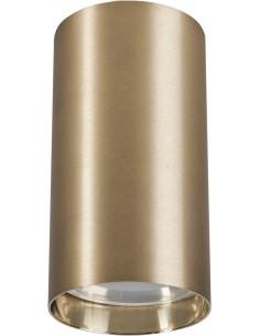 Tuba natynkowa nowoczesna Eye brass S mosiądz 8911 - Nowodvorski