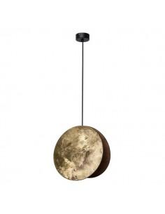 Lampa wisząca złota Wheel dysk zwis okrągła 9028 - Nowodvorski