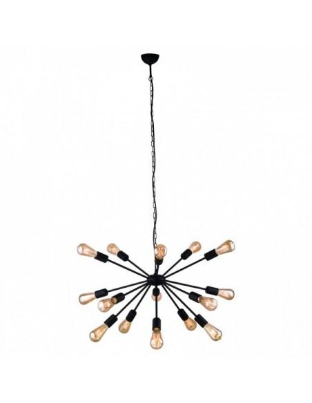 Lampa wisząca Rod 15 czarna industrialna zwis 9733 - Nowodvorski
