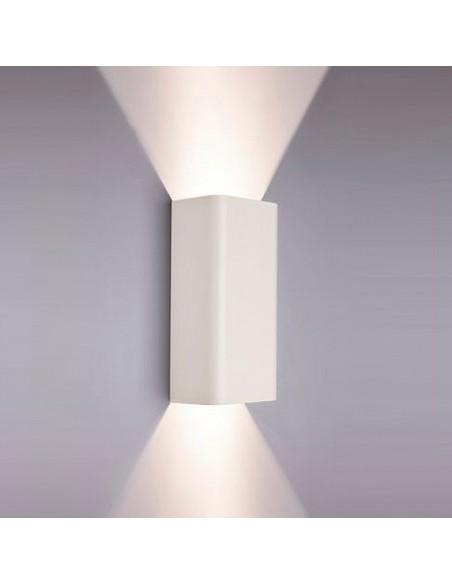 Kinkiet 2 punktowy Bergen biały metalowy nowoczesny 9706 - Nowodvorski