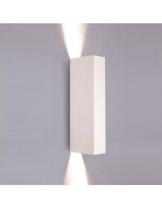 Kinkiet 2 punktowy biały Malmo GU10 metalowy 9704 - Nowodvorski