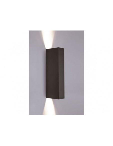 Kinkiet czarny metalowy Malmo 2 punktowy 9705 - Nowodvorski