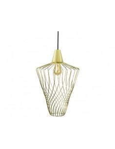 Lampa wisząca złota druciana Wave L gold zwis 8857 - Nowodvorski