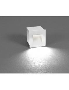 Oprawa elewacyjna Step LED IP44 biała kwadratowa 6908 - Nowodvorski