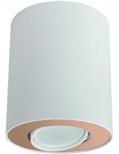 Tuba natynkowa regulowana Set biało złota 8896 - Nowodvorski