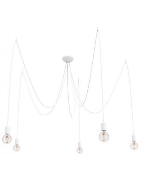 Lampa wisząca pająk biały 5 punktowy Spider 9744 - Nowodvorski