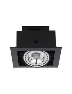 Oprawa podtynkowa ramkowa Downlight ES111 czarna 9571 - Nowodvorski