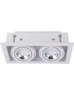 Oprawa podtynkowa regulowana ES111 Downlight 2 biała 9574 - Nowodvorski