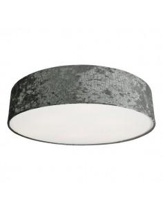 Plafon okrągły 4 punktowy Croco 65cm szary 8956 - Nowodvorski