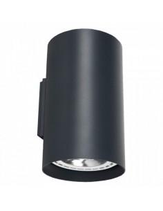 Kinkiet nowoczesny Tube 2 punktowy grafitowy ES111 tuba 9318 - Nowodvorski