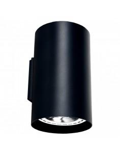 Kinkiet Tube 2 punktowy tuba czarna ES111 9320 - Nowodvorski