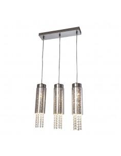 Lampa wisząca z kryształkami Moonlight 3 punktowa zwis ML4364 - Milagro