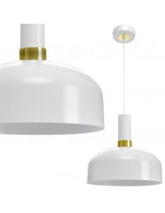Lampa wisząca Malmo biało złota MLP6197 - Milagro