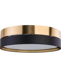Plafon Hilton czarno złoty 4 punktowy 4345 - TK Lighting