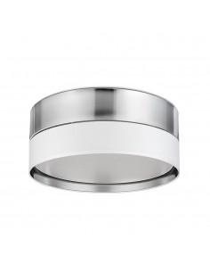 Plafon Hilton biało srebrny 4 punktowy 4181 45cm nowoczesny - TK Lighting