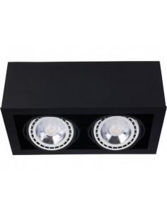 Oprawa natynkowa regulowana Box downlight ES111 czarny 9470 - Nowodvorski
