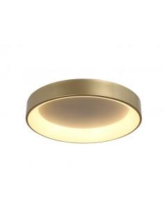 Plafon LED Georgia okrągły złoty 36W LP-049/1C GD - Light Prestige