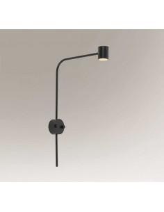 Sakata kinkiet minimalistyczny LED czarny 7822 - Shilo