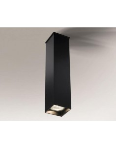 Toda oprawa natynkowa GU10 długa czarna 28cm 1103 - Shilo