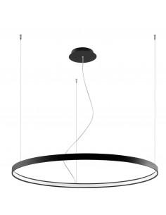 Rio lampa wisząca LED 110 ring czarna circle TH.103 - Thoro