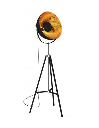 Antenne lampa podłogowa czarno złota TS-090522F-BK - Zuma Line