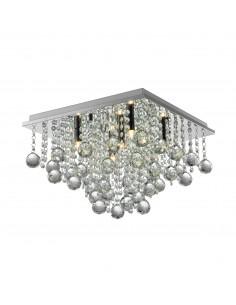 Rangel lampa sufitowa z kryształkami chrom RLX92711-5 - Zuma Line