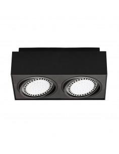 Boxy CL 2 punktowy czarny downlight regulowany 20075-BK - Zuma Line