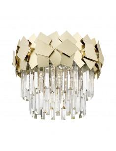 Quasar lampa sufitowa złota kryształowa C0506-05A-B5E3 - Zuma Line