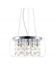 Cassia lampa wisząca chrom kryształki 19151 - Zuma Line