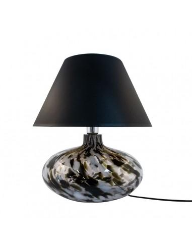 Adana lampka stołowa czarny abażur KREZLE 5526BKGO - Zuma Line