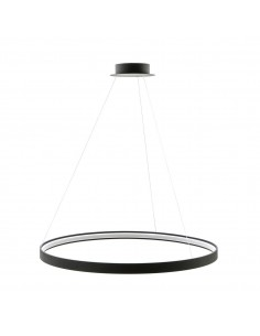 Circle lampa wisząca LED 110cm czarna ring LA0722/1 - BK - Zuma Line