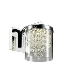 Cantos Kinkiet LED z kryształkami LP-1114/1W - Light Prestige