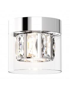 Gem lampa sufitowa 1 punktowa chrom C0389-01A-F4AC - Zuma Line