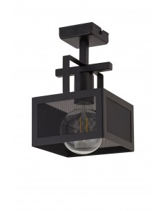 Albert lampa sufitowa 1 punktowa czarna metalowa 32178 - Sigma