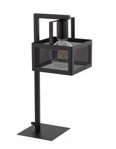 Albert lampka stołowa loft czarna metalowa 50241 - Sigma