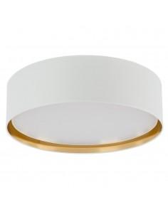 Bilbao lampa sufitowa 1 punktowa biało złota 3433 - TK Lighting