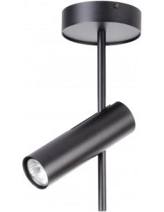 Leda lampa sufitowa 1 punktowa czarna 33106 - Sigma