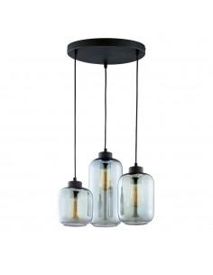 Marco lampa wisząca 3 punktowa grafitowa 3185 - TK Lighting