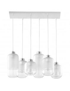 Marco lampa sufitowa 6 punktowa srebrna 3359 - TK Lighting