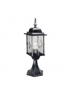 Lampa zewnętrzna stojąca niska Wexfor patyna srebro WX3 - Elstead Lighting