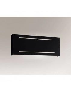 Kinkiet prostokątny Kitami czarny metalowy 4419 - Shilo
