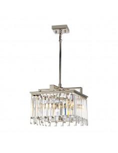 Aries lampa wisząca kryształowa chrom ARIES-4P-S - Elstead Lighting