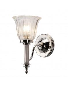 Carroll kinkiet łazienkowy chrom IP44 BATH-CARROLL1-PN - Elstead Lighting