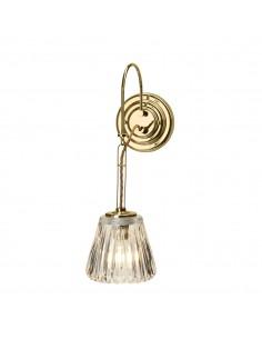 Demelza kinkiet łazienkowy złoty IP44 BATH-DEMELZA-PB - Elstead Lighting